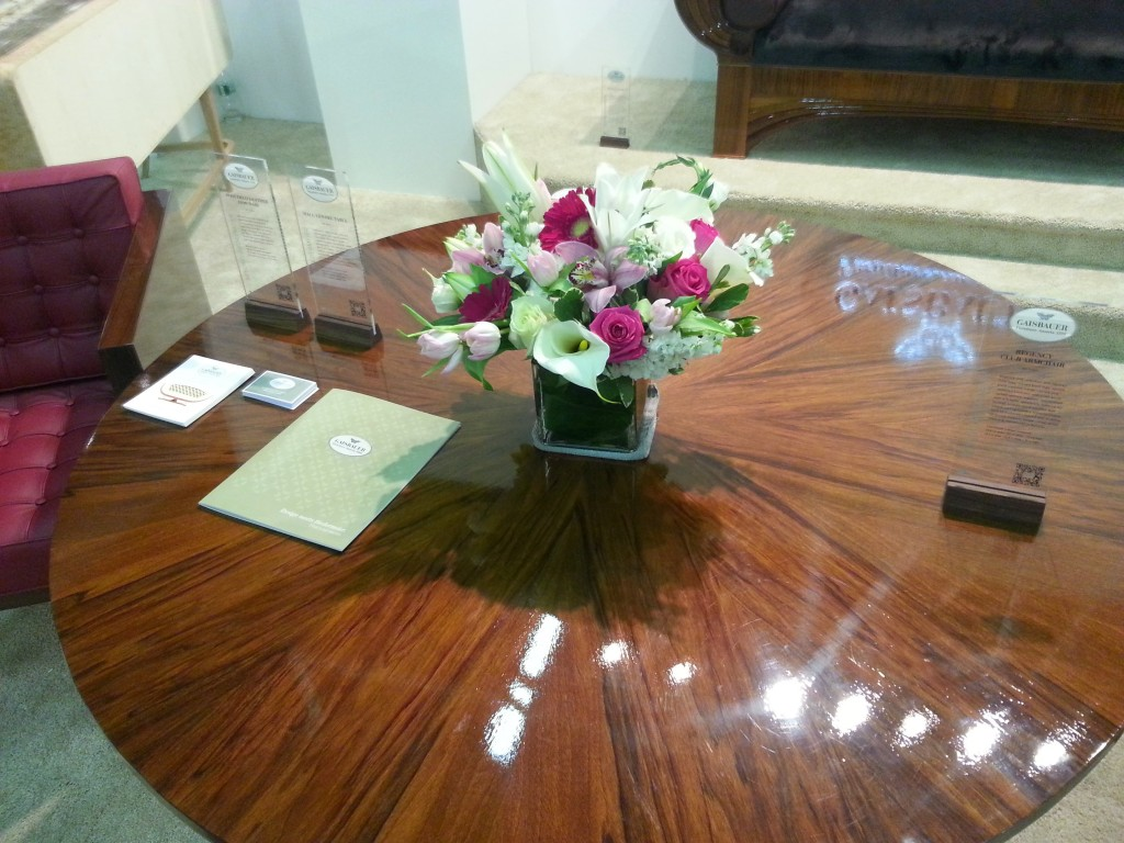 Gaisbauer round hall table