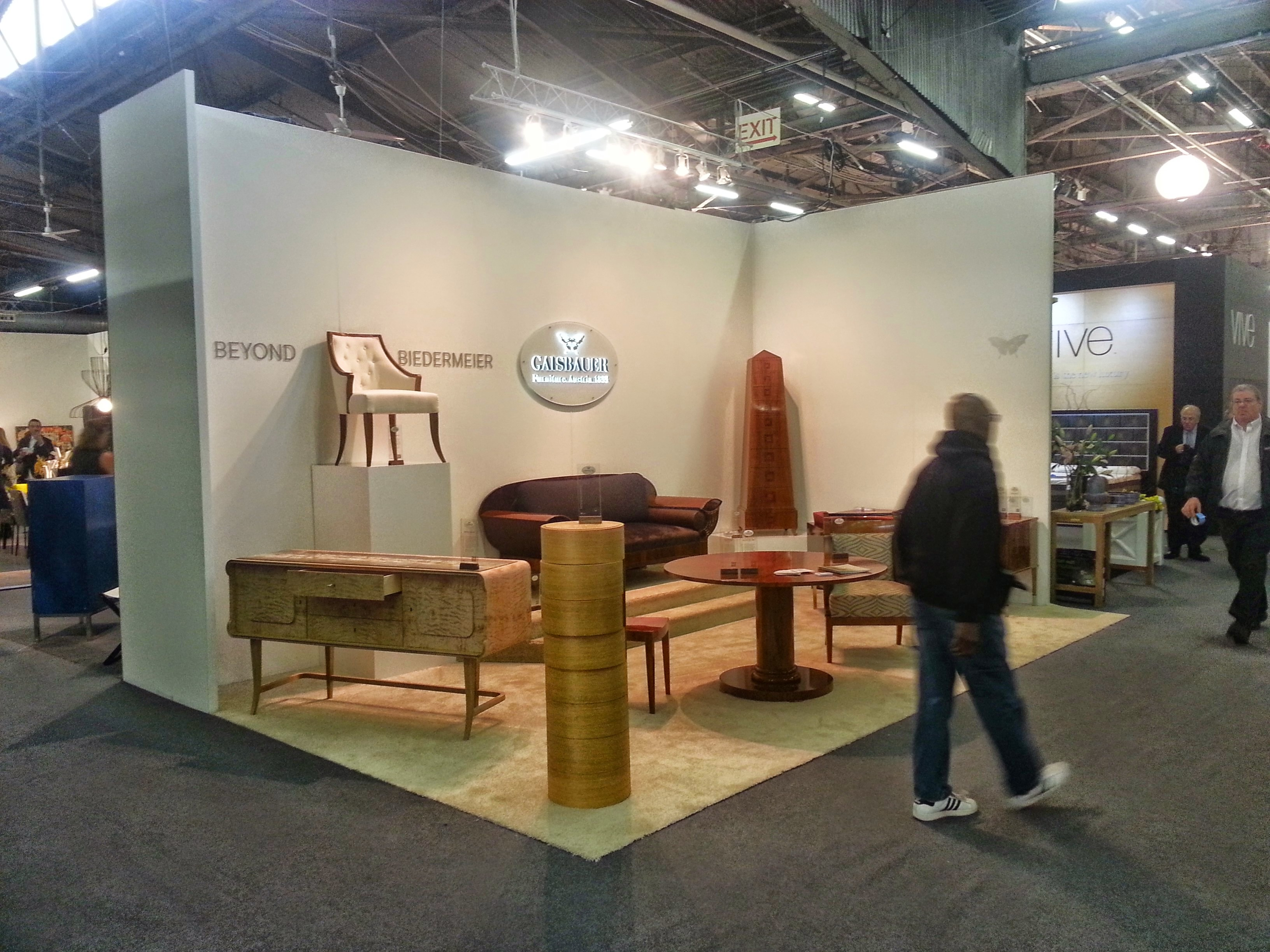 Gaisbauer booth at AD2015